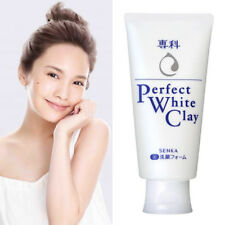 [SHISEIDO SENKA] PERFECT WHITE CLAY Foam Cleanser Brightening Face Wash 120g NEW