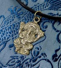 Muy bonito Buda-Ganesha amuleto de Nepal Tibet plata