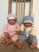 Lifelike Newborn Twin Baby Dolls Boy and Girl-Disponible Séparément, voir prix