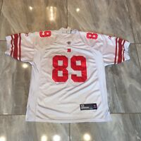 New York Giants Kevin Boss Mens 52 Jersey Reebok Stitched