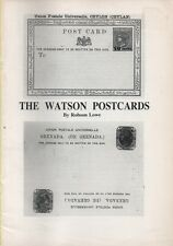 Philatelic Literature The Watson Postcards by Robson Lowe - booklet