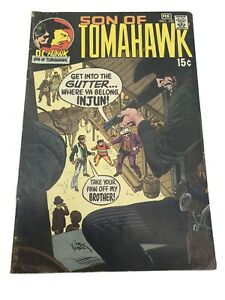 Son of Tomahawk #132 DC Bronze Age Western 1971 DC Hawk  Comic Book
