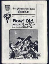Menomonee Falls Guardian 6 Vf-Nm Captain Easy 1973 Pope