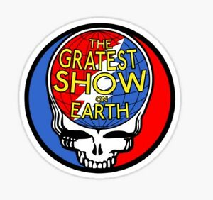 The Grateful Dead music greatest show on earth Sticker decal car laptop cute