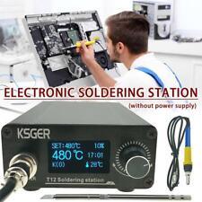 T12 V3.0 STM32 OLED Soldering Iron Rods Station Digital Temperature Controller