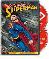 SEALED NEW THE BEST OF SUPERMAN Man Of Steel 2 disc DVD 2013