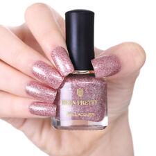 6ml Rose Gold Nail Polish Glitter Nail Art Varnish Manicure BORN PRETTY Tools