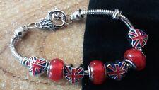 union jack heart red bracelet loyalist ulster scots loyal ulster scots RFC