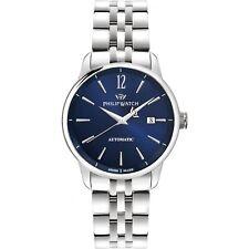 Orologio Philip Watch Anniversary R8223150001 uomo acciaio AUTOMATICO BLU