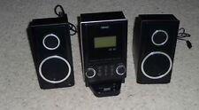 TEAC CD-X70i Micro Hi-Fi Stereo System CD Player 30 Pin Ipod Dock AM/FM Radio
