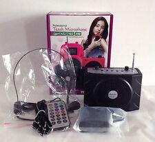 Portable Waistband Voice Booster Amplifier Loudspeaker Microphone Megaphone