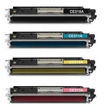 4x New Color Toner For HP CE310A CE311A CE312A CE313A 126A HP Pro 100 200 CP1025
