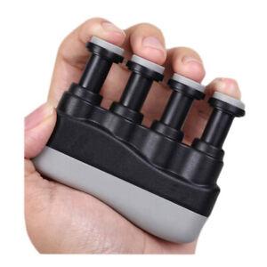 Hand Finger Exerciser Grip Strengthener For Guitar Bass Violin Piano Trainer AU