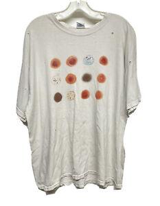 2011 Peter Gabriel New Blood tour distressed T shirt - XL
