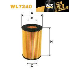 1x Wix Oil Filter WL7240 - Eqv to Fram CH9301