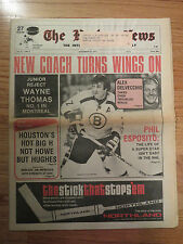 The HOCKEY NEWS Nov 23 1973 Newspaper PHIL ESPOSITO Super Star BOSTON BRUINS