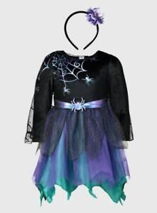 BRANDNEW & UNWORN ( HALLOWEEN SPIDER FAIRY  FANCY DRESS ) BRILLIANT COSTUME
