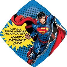 Party Supplies Father's Day Superman Hero Super Shape Foil  Balloon