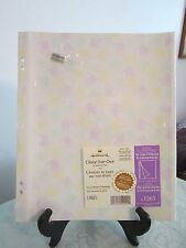 HALLMARK (5) AR1265 CHOOSE-YOUR-OWN SELF ADHESIVE ALBUM PAGES-3 RING OR POST