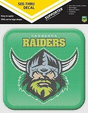 620106 CANBERRA RAIDERS SEE THRU APP ICON DECAL NRL CAR STICKERS ITAG