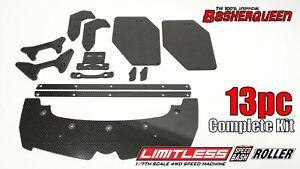 Basherqueen Carbon Fiber Complete Kit Arrma Limitless 6S BLX Roller (13 pc)