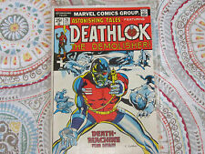ASTONISHING TALES DEATHLOK 26 COMIC second appearance Deathlok