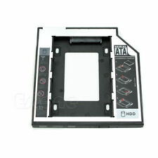9.5mm SATA 2nd HDD SSD Hard Drive Caddy For CD/DVD-ROM Optical Bay Universal S