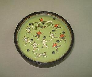 Vintage 1950's East Europe Dexterity Palm Puzzle SOCCER FOOTBALL