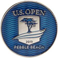 2019 US Open (PEBBLE BEACH) -FLAT- Large TWO SIDED Logo Golf BALL MARKER