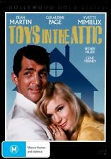 Toys In The Attic DVD=DEAN MARTIN-GERALDINE PAGE=REGION 4=BRAND NEW AND SEALED