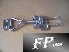 Fermeture à levier inox  Réglable 100/125mm