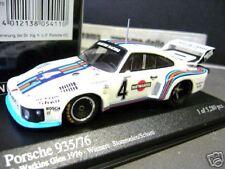 PORSCHE 935 /76 Turbo WG 1976 #4 Martini Stommelen Minichamps PMA 1:43
