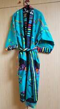 Kleurrijke badjas kamerjas  / Large (40) / Nini Ferrucci / Vintage / Design