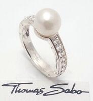 Thomas Sabo Damen Ring UVP-98,00 € TR1909-054-14-54, Zirkonia TR1909-054-14-54