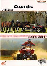 HONDA Four Trax 250 450 ES 350 500 650 Sportrax 250 400 EX Brochure Quads 2003