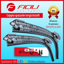 Coppia Spazzole Tergicristallo GRANDE PUNTO 500L ALFA MITO FORD FIESTA TWINGO I