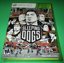 Sleeping Dogs Microsoft Xbox 360 *Factory Sealed! *Free Shipping!