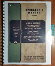 John Deere 200B Two-Row Side Dresser Attachment for Cultivator Operator Manual