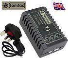 softair battery charger balancer tomtac 11.1v 7.4v 2 3 cell lipo mains uk plug