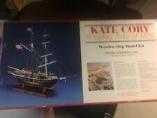 Model Shipways Wooden Kit - Kate Cory Whaling Brig