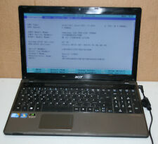 Acer Aspire 5745 -724G64Mn Q720 intel core i7 Notebook an Bastler