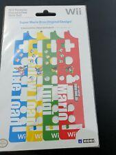 Wii Remote Decorative Skin Set - Super Mario Bros.- Original Design - NEW