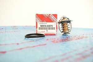 TOYOTA GENUINE COOLANT THERMOSTAT and Gasket 90916-03075 4RUNNER CAMRY TACOMA