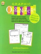 GRAPHIC ORGANIZER FOR WRITING - NEW PAPERBACK BOOK