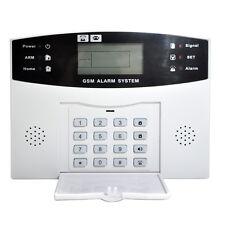 YA-500-GSM Wireless Wired Home Security LCD Burglar Alarm System Auto Dialer