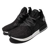 adidas Originals NMD_XR1 PK PrimeKnit Core Black Silver Men Shoes Sneaker S77195