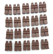 LEGO LOT OF 20 NEW PLAIN REDDISH BROWN MINIFIGURE LEGS HIPS BOY GIRL PANTS PIECE