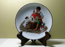 Norman Rockwell 1984 collector plates, Set of 4