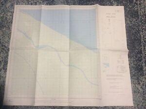 VTG Flight Chart of GUYANA 2SW Shell Beach E791 (DOS 440) Edit 3-GDLS/OSD 1989