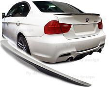 für BMW E90 Tuning Performance Stil Spoiler Heck Splitter Hinten Flap Lippe Kfz